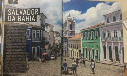 Salvador é destaque em revista portuguesa