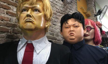 Confirmado: Trump e Kim Jong Um no Carnaval de Olinda