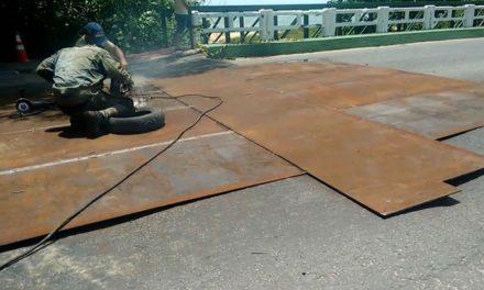 DNIT inicia recuperação de ponte com sinais de rachadura em Porto Seguro