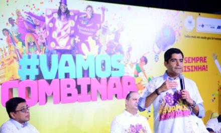 Prefeito e ministro lançam Campanha de Prevenção às DSTs para o Carnaval