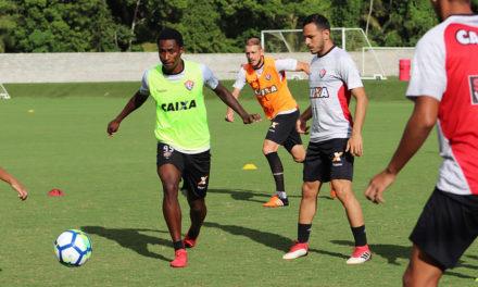 Vitória treina na manhã desta quarta (14) para pegar o Corumbaense amanhã, no Barradão
