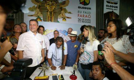 No Pelô, Rui destaca apoio a blocos afro