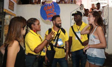 Guias e monitores atenderam mais de 126 mil turistas no Carnaval
