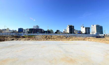 Montagem da piscina olímpica começa na próxima segunda (26)