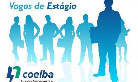 Coelba abre vagas para estágio em Salvador e mais nove cidades do Estado
