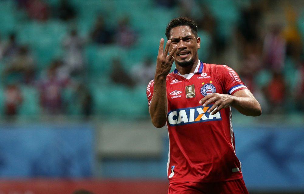 Hernane pode deixar o Bahia para atuar no ataque do Grêmio