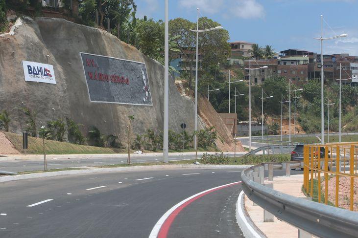 Av. Mário Sérgio (via Barradão) será inaugurada neste sábado