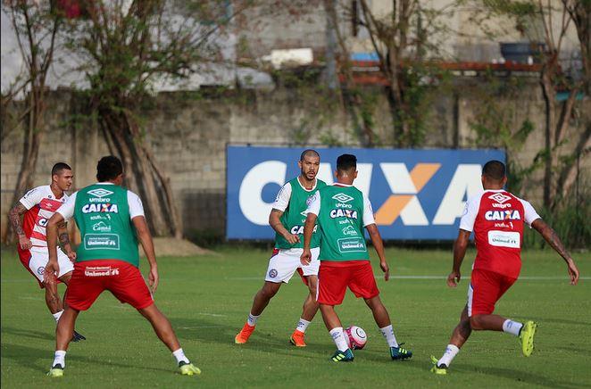 Bahia treina nesta quinta de olho no jogo contra o Jacobina, no domingo