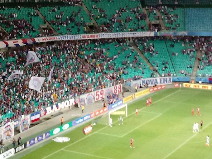 Bahia vence o Náutico pela Copa do Nordeste e está três pontos atrás do líder Botafogo
