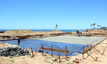 Processo para montagem da piscina olímpica tem início nesta quarta (28)