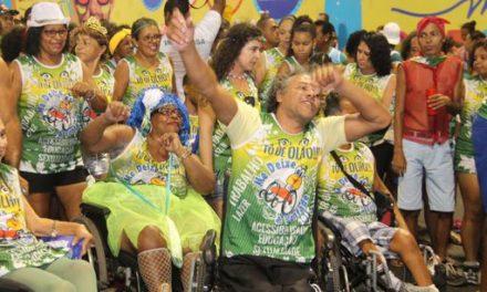 Secretaria de Justiça apoia bloco para pessoas com deficiência no Carnaval