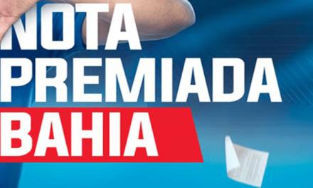 Nota Premiada Bahia tem ganhadores de quatro cidades; confira dez primeiros sorteados