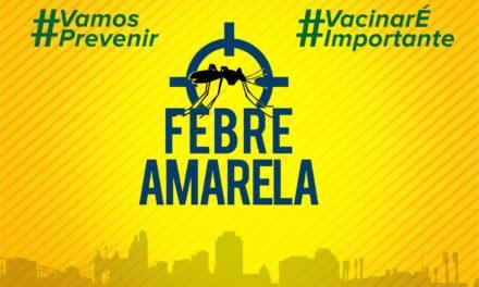 Salvador e sete municípios do interior recebem campanha de vacinação contra a febre amarela