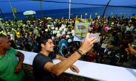 Prefeito afirma que Carnaval de Salvador se reinventa ao unir passado e futuro