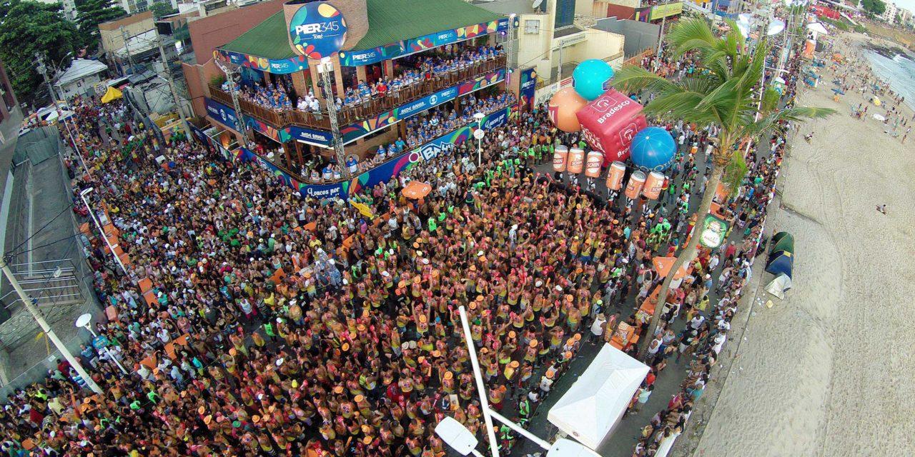 Prefeitura divulga números do aumento de foliões no Carnaval nesta terça (13)