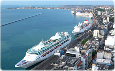 Mais de 43 mil turistas de cruzeiros marítimos desembarcarão em Salvador até abril