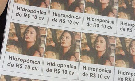 Traficantes usam foto de Bibi Perigosa para embalar drogas