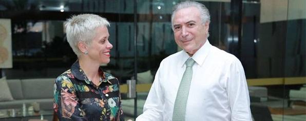 Marun diz que Temer vai insistir em nomeação de Cristiane Brasil no Mistério do Trabalho