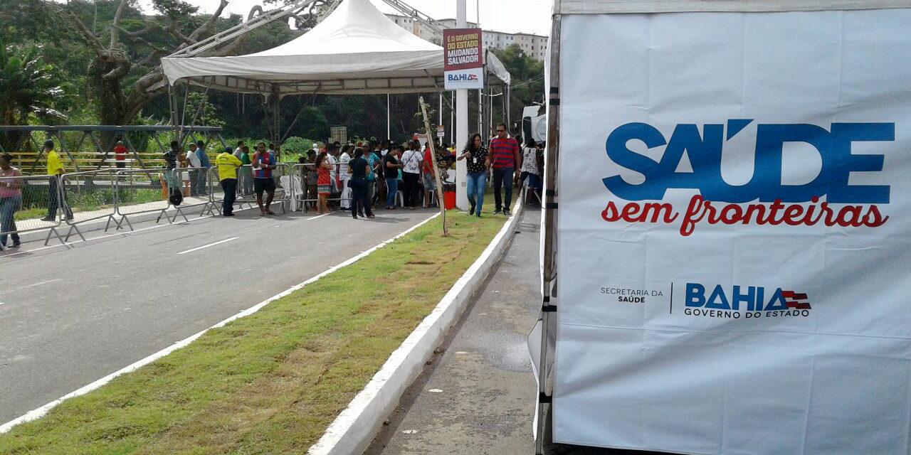 Voluntárias Sociais levam serviços de saúde e cidadania para Porto Seguro
