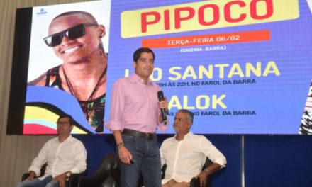 Foliões contarão com esquema especial para Pipoco na terça-feira (6)