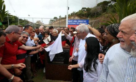 Na véspera do BA x VI, Via Mario Sérgio é inaugurada