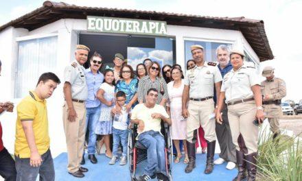 Polícia Militar expande serviços de Equoterapia no interior do estado