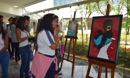 Estudantes homenageiam as mulheres com mostra de artes na Assembleia Legislativa da Bahia