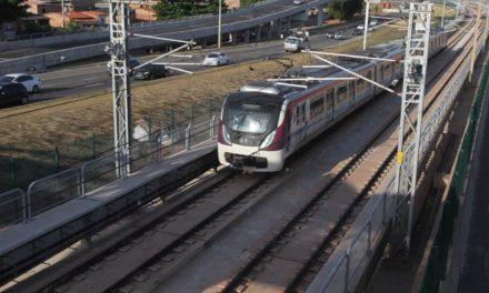 Metrô inicia operação sem passageiros entre Mussurunga e Aeroporto