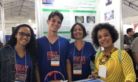 Projetos de estudantes baianos se destacam na Febrace pelo alcance social