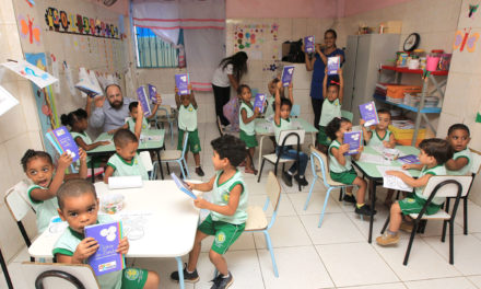 Voluntárias iniciam distribuição de material pedagógico do Mais Infância