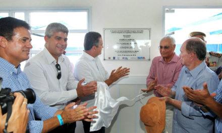 Em Barra, Rui inaugura Disep, autoriza construção de ponte e recuperação de estradas