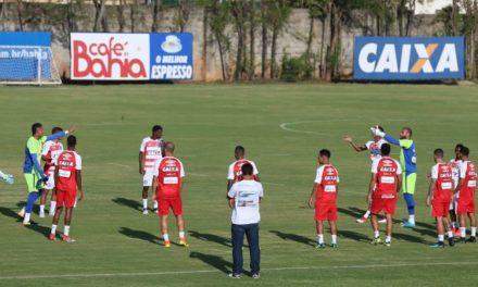 Bahia divulga relação dos jogadores relacionados para jogo com o Náutico pelo Nordestão