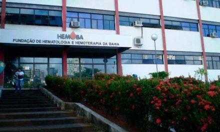 Unidades da Hemoba estarão fechadas no 1ª de Maio