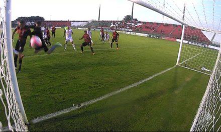 Bahia de Feira 1 x 1 Vitória: gol contra aos 48′ do segundo tempo