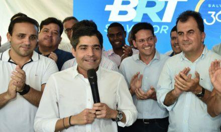 ACM Neto diz que BRT supera perseguições de adversários para virar realidade