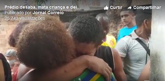 Construção de imóvel que desabou e matou adolescente em Pituaçu era irregular