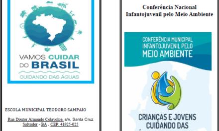 Escola Teodoro Sampaio realiza conferência sobre a água nossa de cada dia