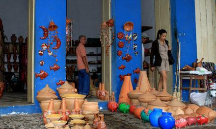 Feira dos Caxixis atrai oito mil visitantes a Nazaré na Semana Santa
