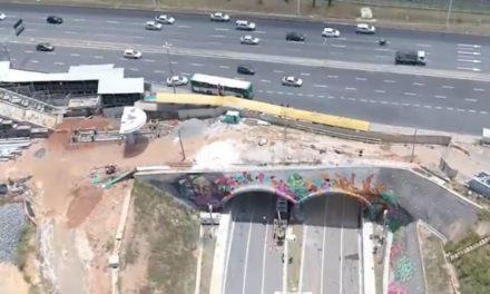 Túneis sob Avenida Paralela fazem ligação direta entre Pinto de Aguiar e Gal Costa
