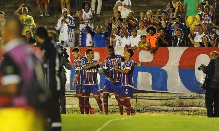 Bahia vence Botafogo-PB e vai às quartas da Copa do Nordeste