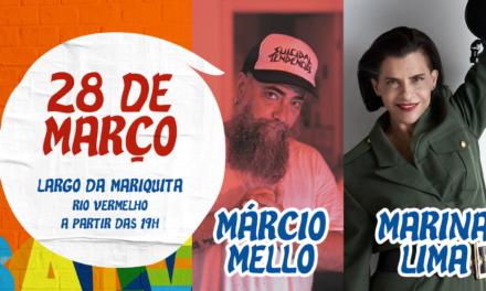 Festival da Cidade terá Márcio Mello nesta quarta (28)