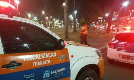 Transalvador: interdição do tráfego de veículos e vagas para estacionamento