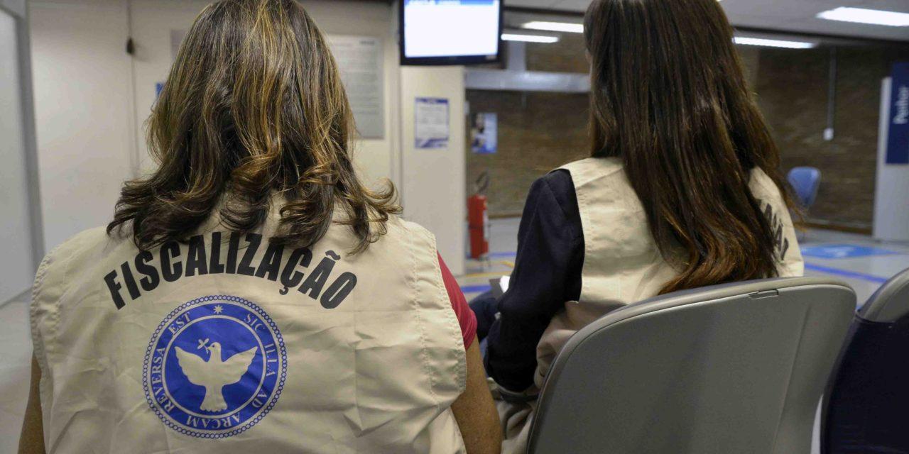 Codecon fiscaliza cumprimento da Lei dos 15 Minutos nos bancos de Salvador