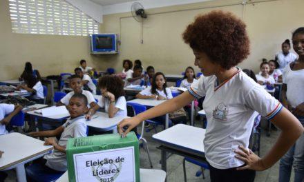 Estudantes da rede estadual elegem líderes de classe