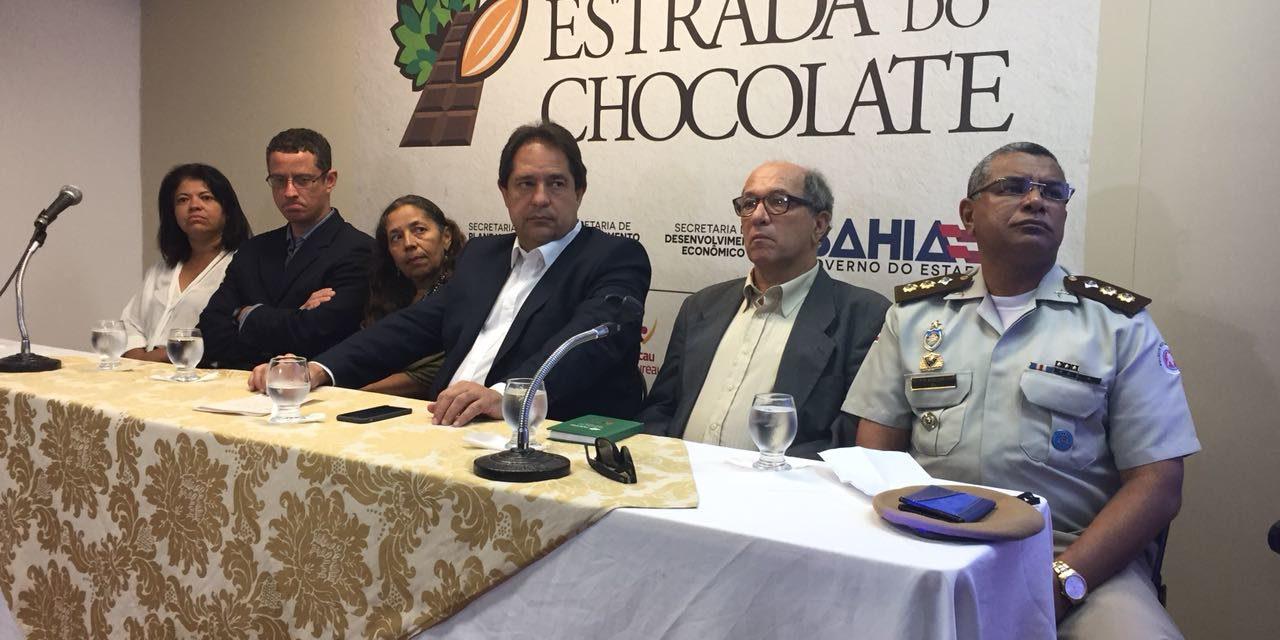 Encontro discute estruturação da Estrada do Chocolate