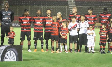 Mascotes do Vitória entrarão em campo com os jogadores no jogo contra o Corinthians