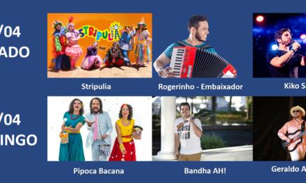 Fim de semana será animado por Geraldo Azevedo e Kiko Salli no Mais Salvador Norte