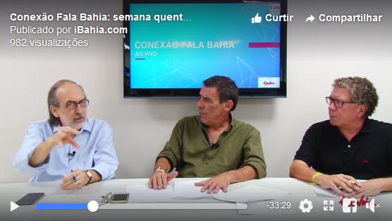 Emmerson José e equipe falam sobre justiça e política no Brasil