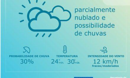Codesal: condições meteorológicas para hoje (23)