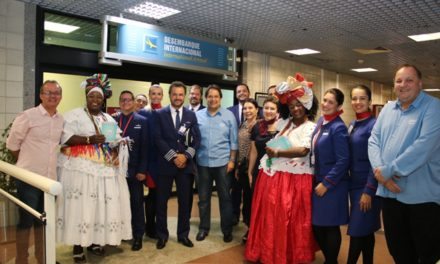 Bahia impulsiona turismo internacional com nova rota Miami-Salvador